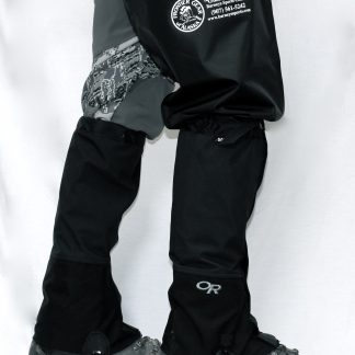 Glacier socks with Croc Gaiters