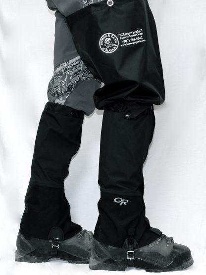 Glacier socks with Croc Gaiters