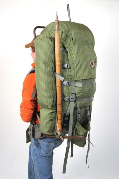Integral Ice Tool or Walking Poles Carrier System