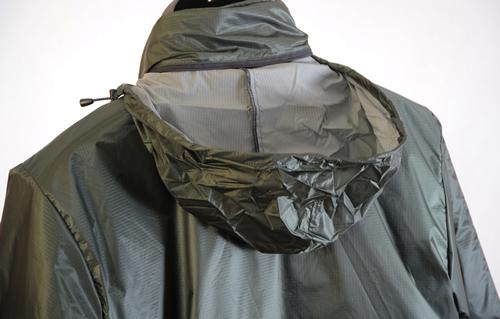 Roll-away Pertex hood