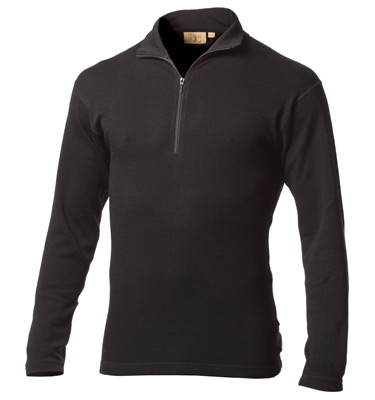 Minus 33 Expedition Wool 1/4 Length Zip Tee-0